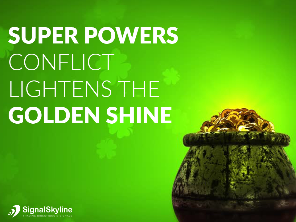 Gold Trading - Super Powers Conflict Lightens The Golden Shine