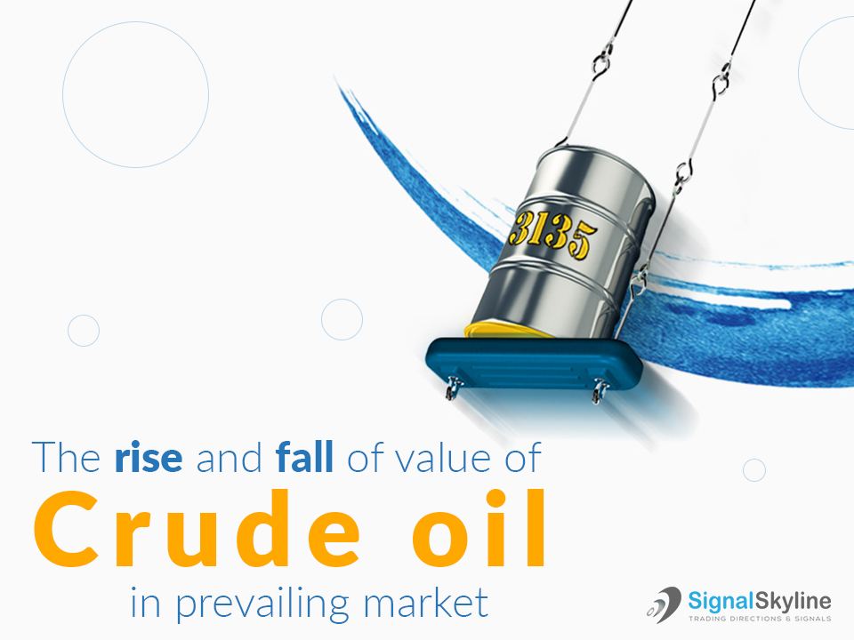 The-rise-and-fall-of-value-of-Crude-oil-in-prevailing-market